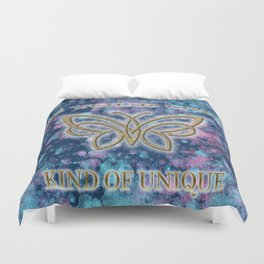Be Your Own Kind of Unique Duvet Cover