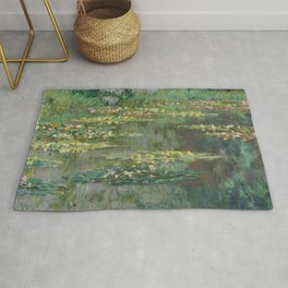 Monet, Le Bassin des Nympheas, 1904 Rug