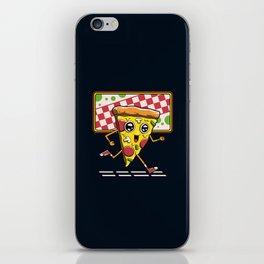 Pizza Run iPhone Skin