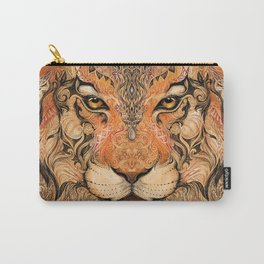 Indian Tiger Tattoo Carry-All Pouch
