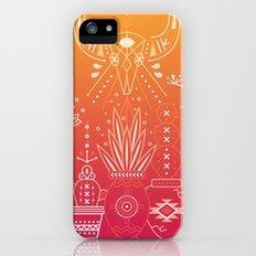 Santa Fe Garden – Orange Sunset iPhone SE Slim Case