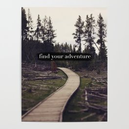 Find Your Adventure Poster