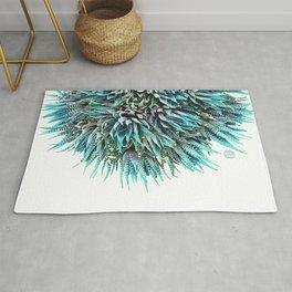 Cactus Crown 1. Blue & Green #decor #buyart Rug