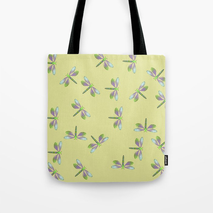 Dragonfly Frenzy Tote Bag