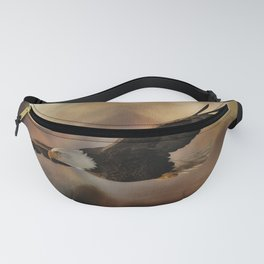 Eagle Flying Free Fanny Pack