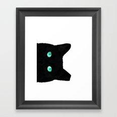 Over here Framed Art Print