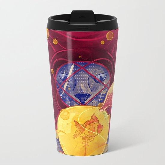 La Lumiere (Yellow) Metal Travel Mug