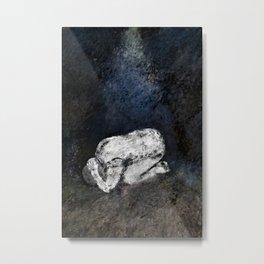 Agony Metal Print
