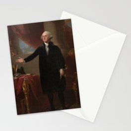 Gilbert Stuart - George Washington (Lansdowne Portrait) Stationery Cards