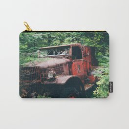 Abandoned Truck in the Woods Carry-All Pouch