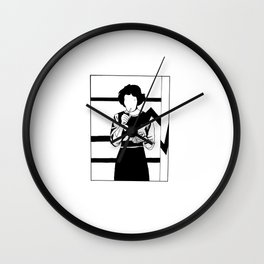 Iconic Women: Audrey Horne Wall Clock