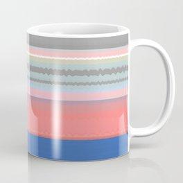 Gentle Flow Color Therapy Minimalist Meditation Print Coffee Mug