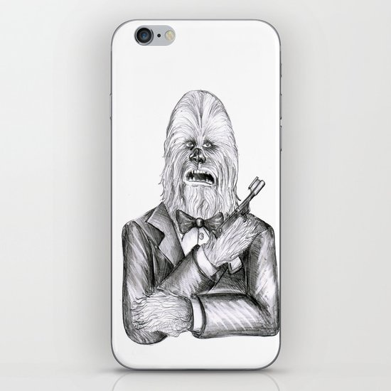 Wookie 007 iPhone & iPod Skin
