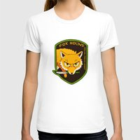 metal gear solid T-shirts featuring Metal Gear Solid - Chibi Foxhound by feriowind