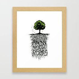Know your Roots Framed Art Print