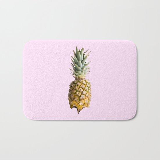 Melting Pastel Pineapple - Rose Bath Mat