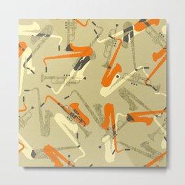 Miles & 'Trane Metal Print