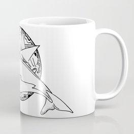 Flying whale Coffee Mug