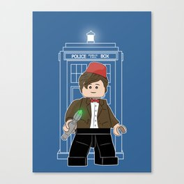 The Doctor (Lego Doctor Who) Canvas Print