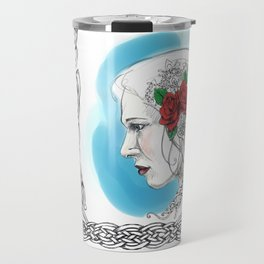 Celtic Rose Travel Mug