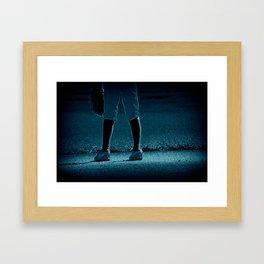 Short Stop Framed Art Print