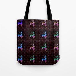 REINDEER Pattern Tote Bag