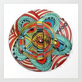 """Eye in the sky"" Art Print"