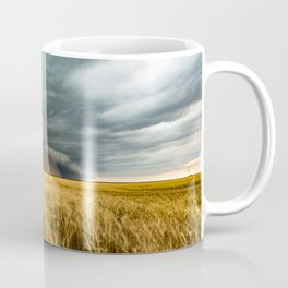 Earth Mover - Storm Advances Across Great Plains in Colorado Coffee Mug