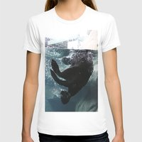 otter T-shirts featuring Otter by RMK Creative