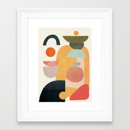 Modern Abstract Art 70 Framed Art Print