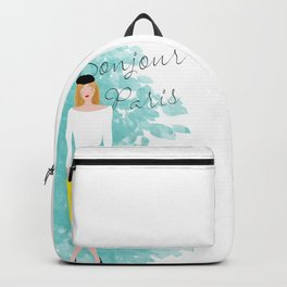 Bonjour Paris Backpack
