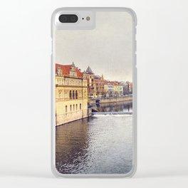 River Vltava Clear iPhone Case