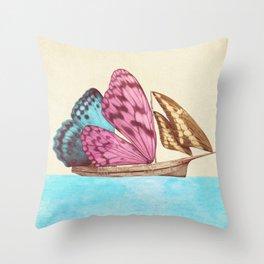 The Voyage (option) Throw Pillow