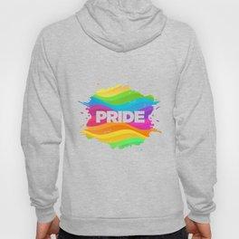 Gay Pride Ink Blot Hoody