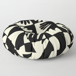 Hand Print Floor Pillow