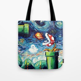 van Gogh Never Leveled Up Tote Bag