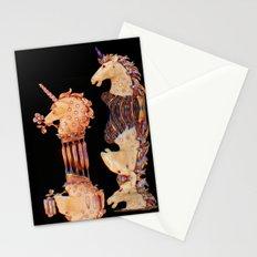 Precious Stone Unicorns Stationery Cards