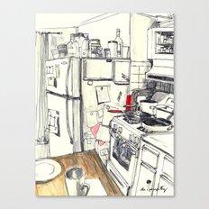 Brooklyn Kitchen, 2016 Canvas Print