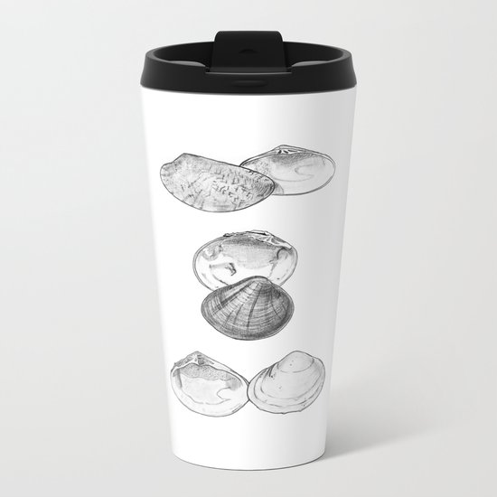 Bivalvia serie 1 Metal Travel Mug
