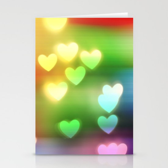 Love in Motion Stationery Cards