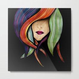 Colorful. Metal Print