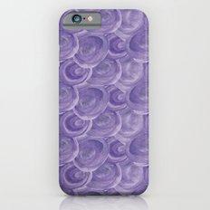 Watercolour Blue iPhone 6s Slim Case