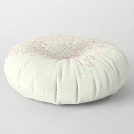 Penis Heart Floor Pillow