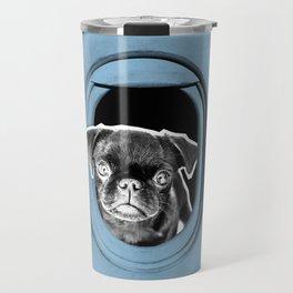PUG SUKI - HELP ME...I'M POOR!  Travel Mug