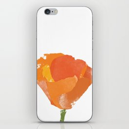 California Poppy iPhone Skin
