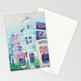 P Street Rowhouses Stationery Cards