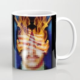 Character Identity Search. Coffee Mug