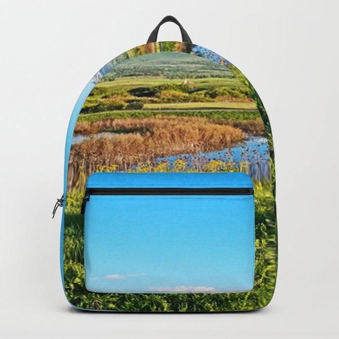 Grass Lands in Utah Backpack