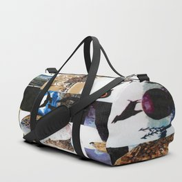 Wolf Collage Duffle Bag