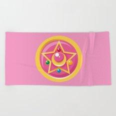 Sailor Moon Crystal Star Beach Towel